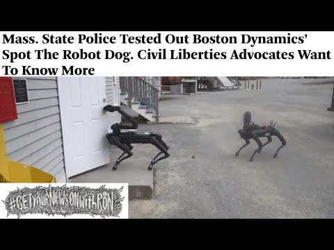 Creepy Police Robot Dogs Unleashed In MA