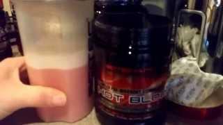 Scitec Nutrition - Hot Blood 3.0 Mix Test