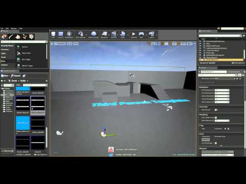 Unreal Engine 4 Tutorial - Fade Music In Map