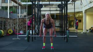 Triathlete Lucy Charles' swimming tips: strength training| Red Bull Fit 4 Purpose