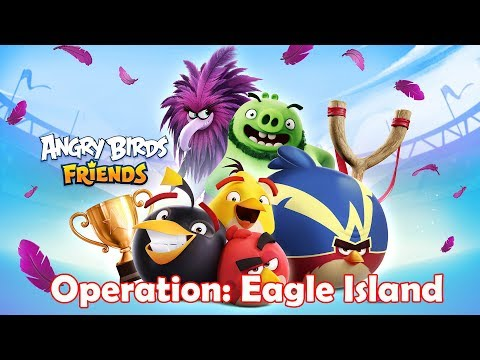 Angry Birds Frieds: Operation Eagle Island Tournament Walkthrough Gameplay |