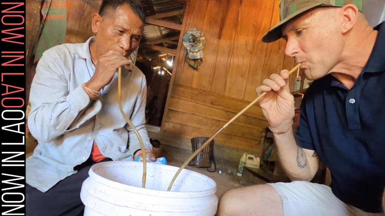 Download Hmong Tribesman Invites me to Drink - Long Tieng Xaisomboun