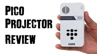 LED Pico Pocket HDMI Projector- REVIEW