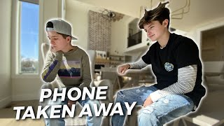 CAUGHT CHEATING ON A TEST | PHONE TAKEN AWAY FOREVER