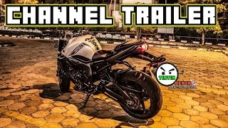 TINTIN MENON MOTOVLOGGER CHANNEL TRAILER WITH DOGS