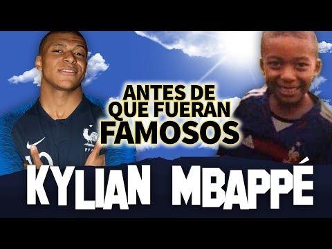 KYLIAN MBAPPE | Antes De Que Fueran Famosos | BIOGRAFIA