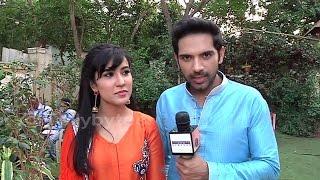 Dhruv and Aditi aka Ankit Bathla and Sheena Bajaj in conversation with Tellybytes
