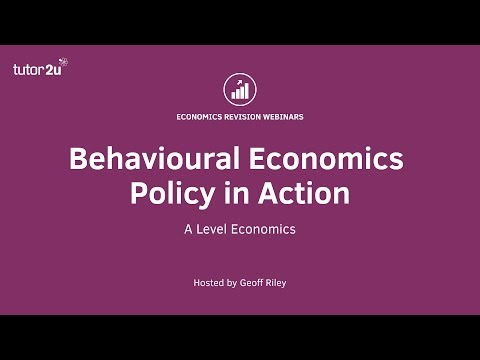 Behavioural Economics - Policies in Action