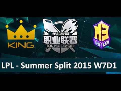 kg vs m3 tencent lpl summer split 2015 w7d1 king vs masters 3 game 1 highlights youtube. Black Bedroom Furniture Sets. Home Design Ideas
