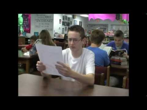 2014 CLW PSA Contest, Middle School Finalist, Dunnellon Middle School, Marion County