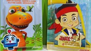 Juegos de Cartas de Jake y los Piratas y Dinotren