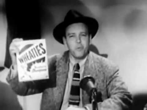 Early 1950s Commercial For  Wheaties