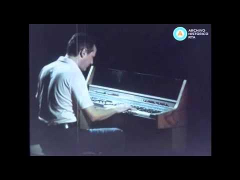 """Sucesos Argentinos: publicidad organo """"Fun Machine"""",  circa 1977"""