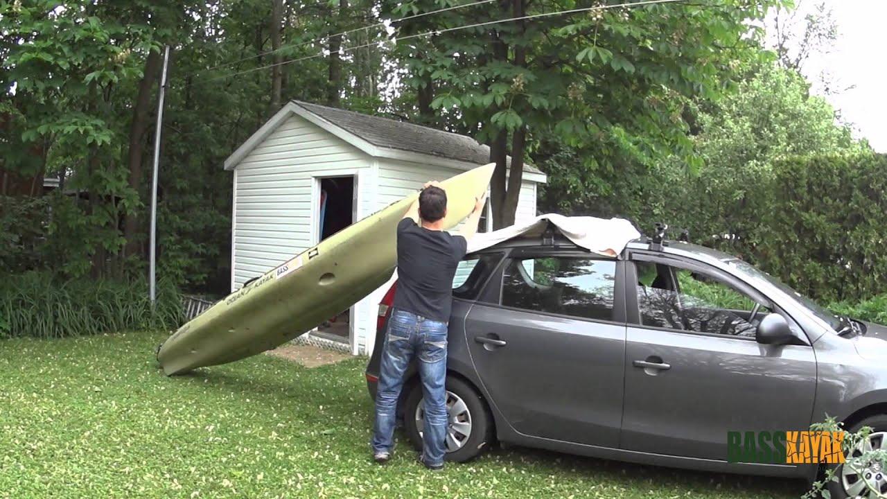 basskayak comment mettre son kayak sans aide sur son. Black Bedroom Furniture Sets. Home Design Ideas
