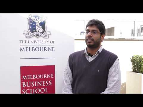 Why Melbourne Business School? Rohit Lingineni