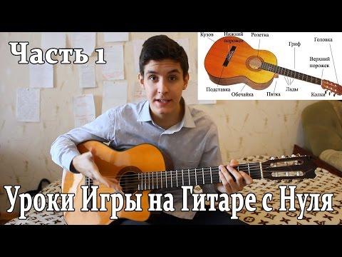 Смотреть видео как научиться играть на гитаре