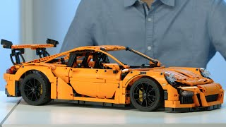 Porsche 911 GT3 RS - LEGO Technic - 42056 - Designer Video