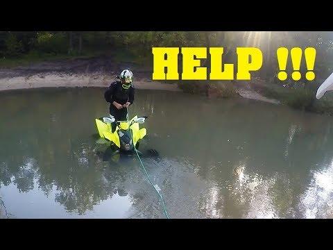 Utopił Quada Akcja w rzece / Enduro / #YAMAHA Raptor 700 / Sand / LS #CB500 / Quadami po Bukownie
