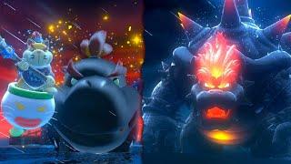 Fury Bowser Jr. vs Fury Bowser Boss Battle in Bowser's Fury