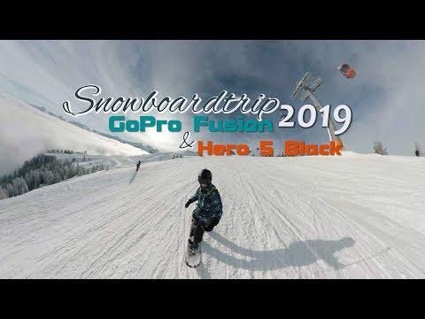 GoPro Fusion Snowboardtrip 2019 4K - MrHero - YouTube