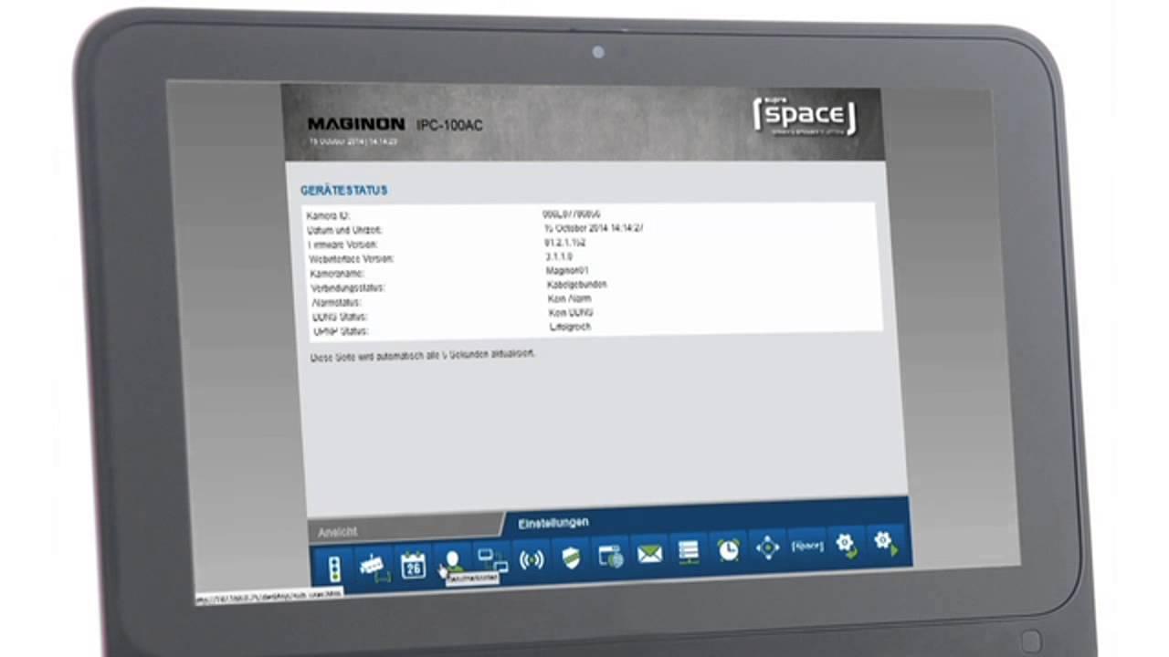 Maginon IP Security Camera - IPC-100 AC (EN)