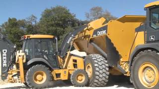 John Deere L Series Backhoe Loader Safety Tips