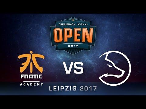 LDLC vs fnatic Academy [Map 2 BO3] DreamHack ASTRO Open Leipzig 2017