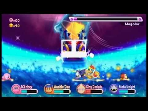 Kirby's Return to Dreamland - 4 Player Co-op Walkthrough (Part 8)