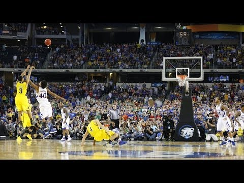2013 NCAA Tournament Sweet Sixteen #4 Michigan vs. #1 Kansas