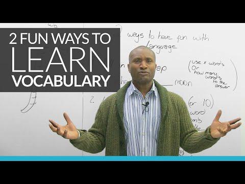 2 cách mới thú vị để học từ vựng tiếng Anh