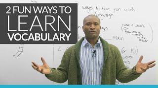 2fun new waysto learn English vocabulary