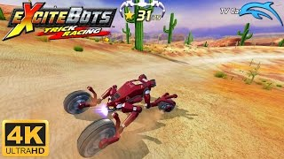 Excitebots: Trick Racing - Gameplay Wii 4K 2160p (Dolphin 5.0)