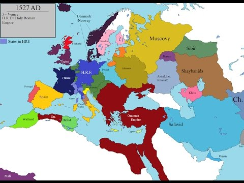 History of Europe and North Africa : Every Year
