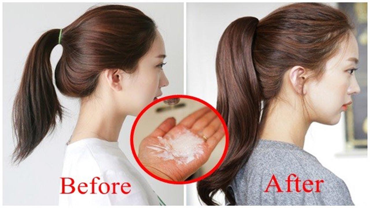 Có ai ngờ rằng trộn 1 nhúm muối vào dầu gội, tóc ngắn lại hóa dài, tóc khô xơ chẻ ngọn trở nên mềm m