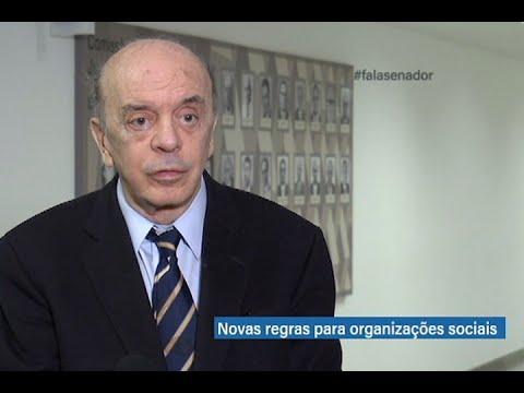 #falasenador: José Serra destaca novas regras para organizações sociais