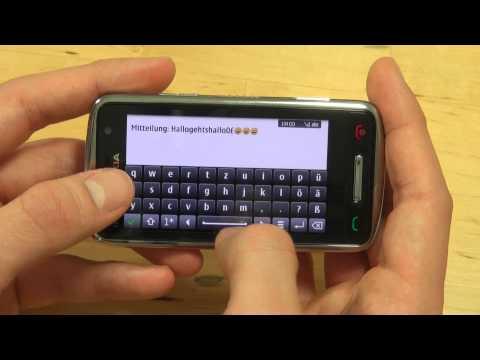 Nokia C6-01 Test Bedienung