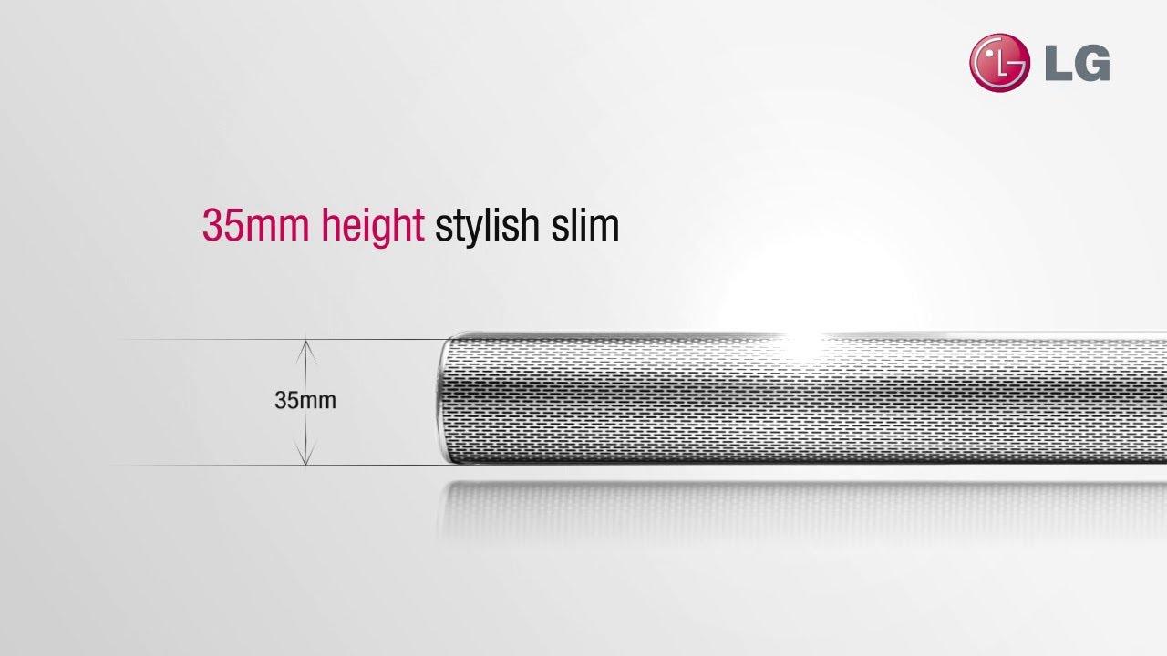 LG 4.1ch Hi-Fi Soundbar (NB5540) - YouTube