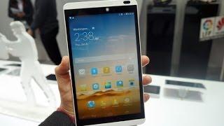 Huawei Mediapad M1, impresiones MWC 2014