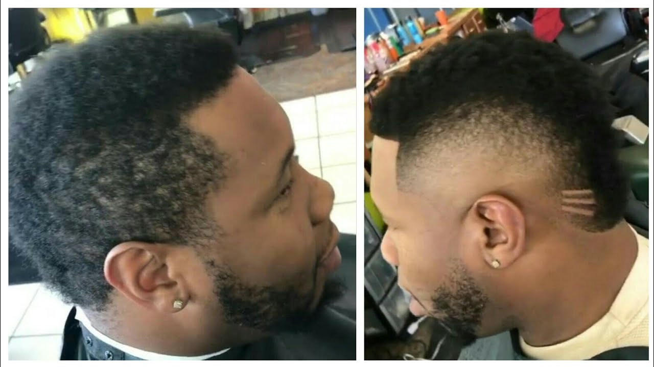 Faux Hawk Fade (Compilation) | Afro Haircut