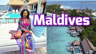 Maldives 2021 Vlog Part 1 | Waldorf Astoria Maldives | Luxury Resort Maldives Vlog
