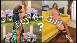OUR OFFICIAL GENDER REVEAL!!