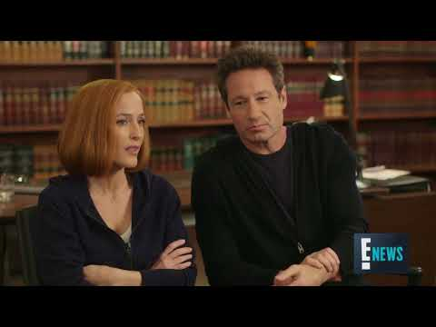 Enews interview with David Duchovny, GIllian Anderson and Chris Carter for The X-Files season 11