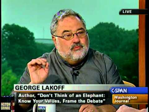 Progressive Cancel Policy >> George Lakoff: Don't Think of an Elephant: The Future of ...