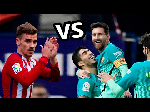 Atletico Madrid vs Barcelona 2017 1-2 |...