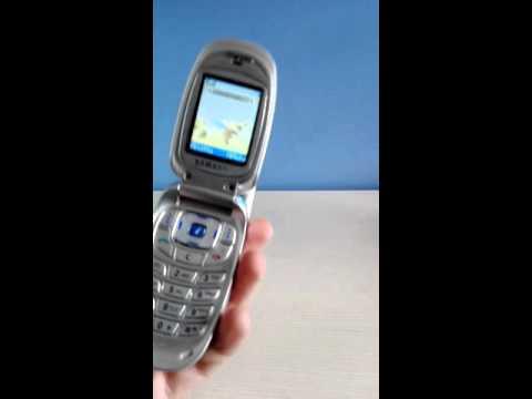 Samsung X450 incoming call