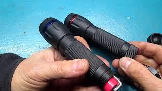 Переделка фонарика на питание от аккумулятора 18650 вместо трех батареек ААА.