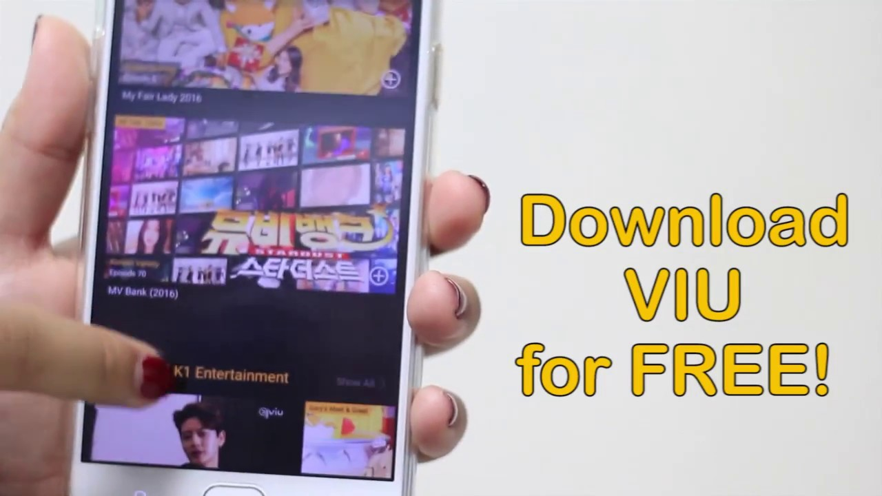 Download VIU app on your ANDROID or IOS devices for FREE!