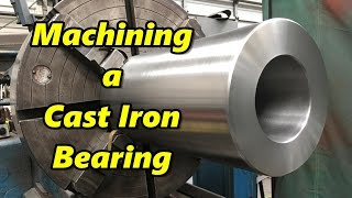 Machining a Cast Iron Bearing