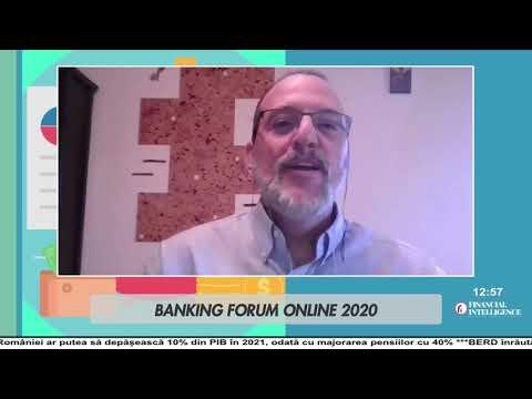 Dragoș CABAT, RisCo, la Banking Forum Online by Financial Intelligenc