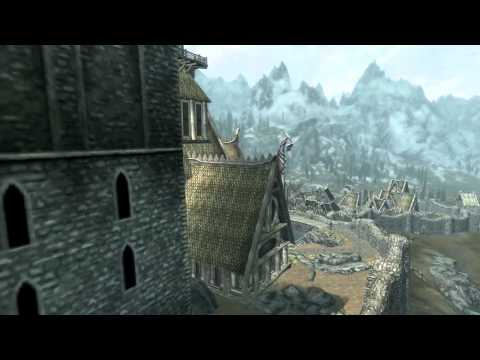 The Streets of Whiterun Tour (Skyrim)